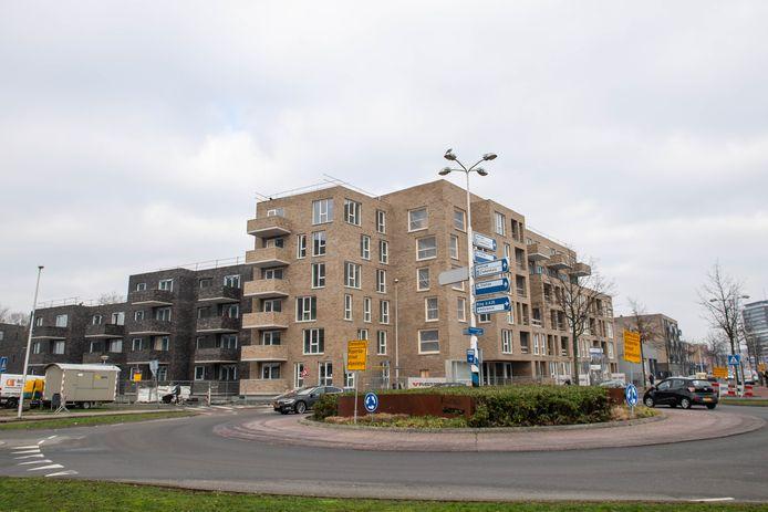 Het nieuwe aanzien van de entree aan de Haaksbergerstraat naar de binnenstad.