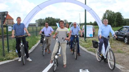 Eindelijk veilig fietsen van station Waarschoot tot aan station Eeklo