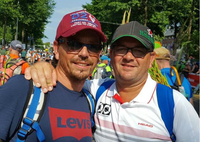 Mischa en Andy Stuiver.
