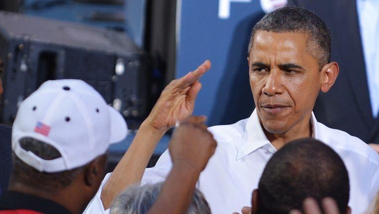Barack Obama Beeld afp