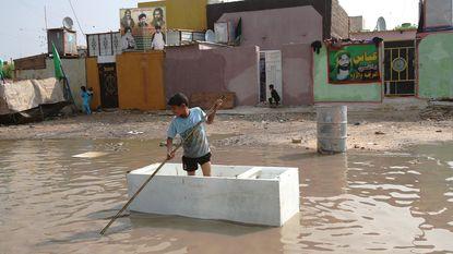 Noodtoestand uitgeroepen in delen Irak na noodweer