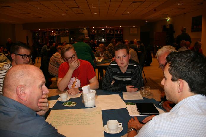 De Dorpsraadvergadering in Herpen.