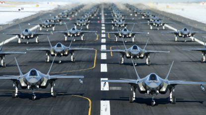 """52 Amerikaanse F-35's verzamelen voor manoeuvre, daags na Trumps tweet rond 52 Iraanse doelen: """"Toeval"""""""