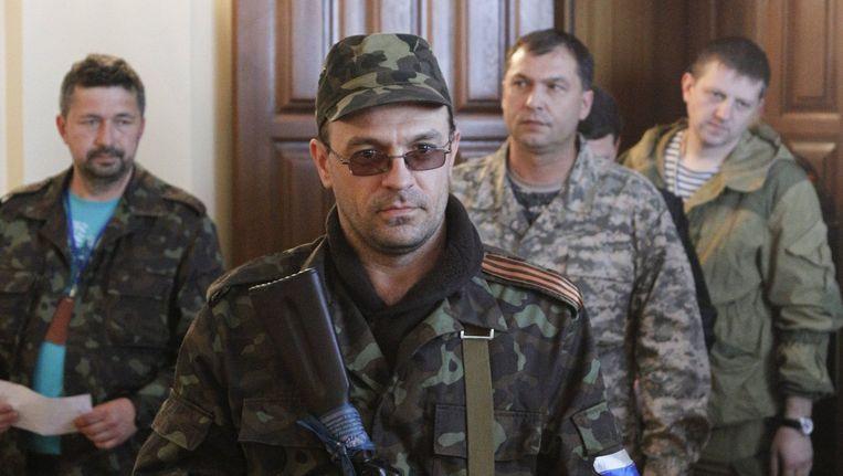 De zelfbenoemde gouverneur van Loegansk.