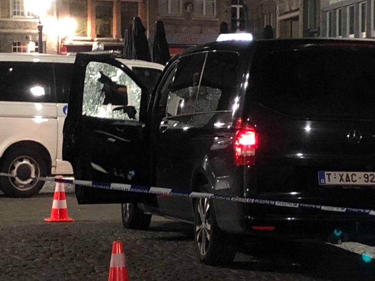 Brugge Schietpartij taxi's