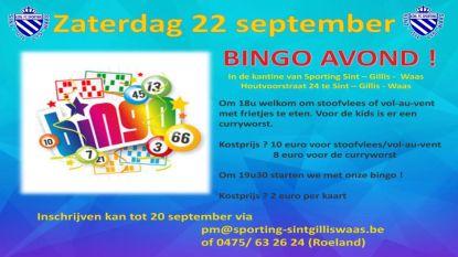Eetfestijn en bingo bij KFC Sporting