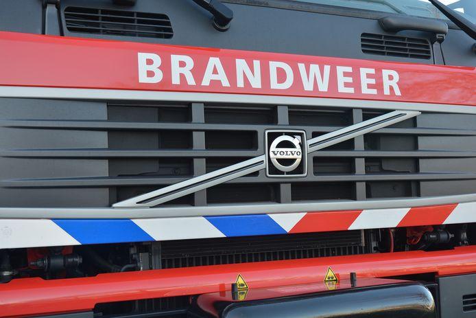 stockadr brandweer volvo brandweerwagen
