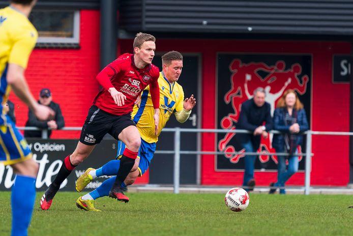 Er wordt zaterdagmiddag niet gespeeld op sportpark 't Midden in Vriezenveen.