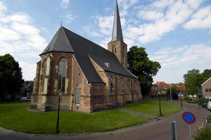 De Oude Mattheüs kerk van de protestantse gemeente Eibergen-Rekken.