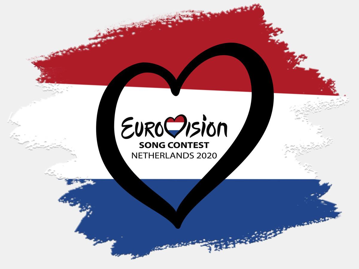 Logo Eurovisie Songfestival 2020 Nederland.