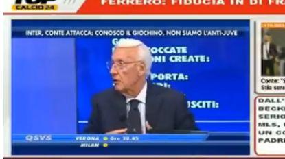 """Italiaans tv-figuur looft Lukaku, tot hij plots stevig uit de bocht gaat: """"De enige manier is hem tien bananen geven"""""""