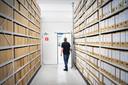 Het archief in Tynaarslo.