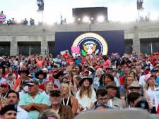 Trump haalt uit bij viering onafhankelijkheid VS en laat omstreden vuurwerkshow doorgaan