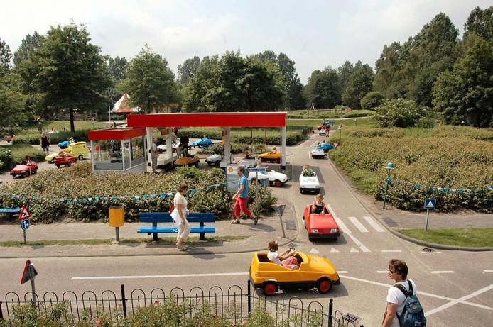 Verkeerspark Assen in betere tijden