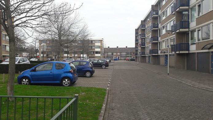 De Mahlerstraat in Bergen op Zoom.