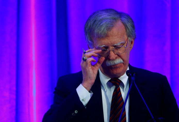 De Amerikaanse veiligheidsadviseur John Bolton