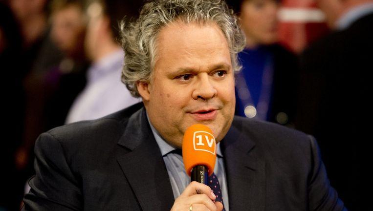 Van Werven in 2012 tijdens een verkiezingsdebat van EenVandaag Beeld anp