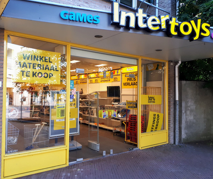 Een zaak van Intertoys in Bennekom.