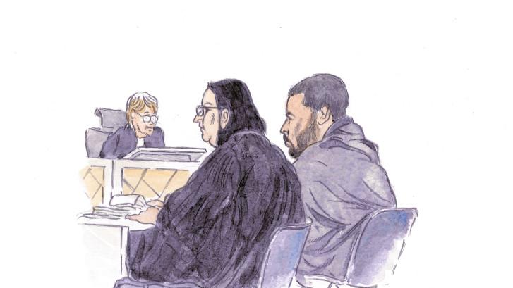 Khalid T. in hoger beroep tegen straf van 8 maanden