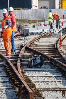Stekelenburgplein: oude spoorlijnen keren terug