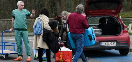 Retour à la liberté pour les Belges en quarantaine à Neder-over-Heembeek