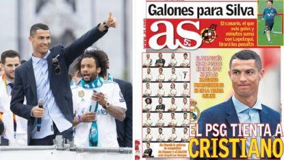 PSG springt volgens Spaanse bronnen in de dans voor Cristiano Ronaldo omdat 'CR7' mikt op astronomisch jaarloon