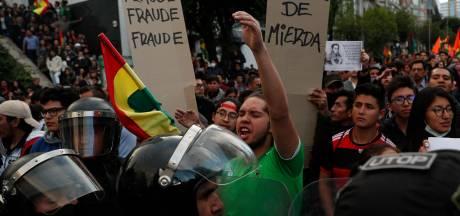 Oppositie Bolivia beschuldigt president Morales van manipulatie verkiezingen