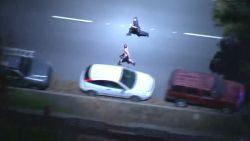 Politieachtervolging eindigt in een hardloopwedstrijdje