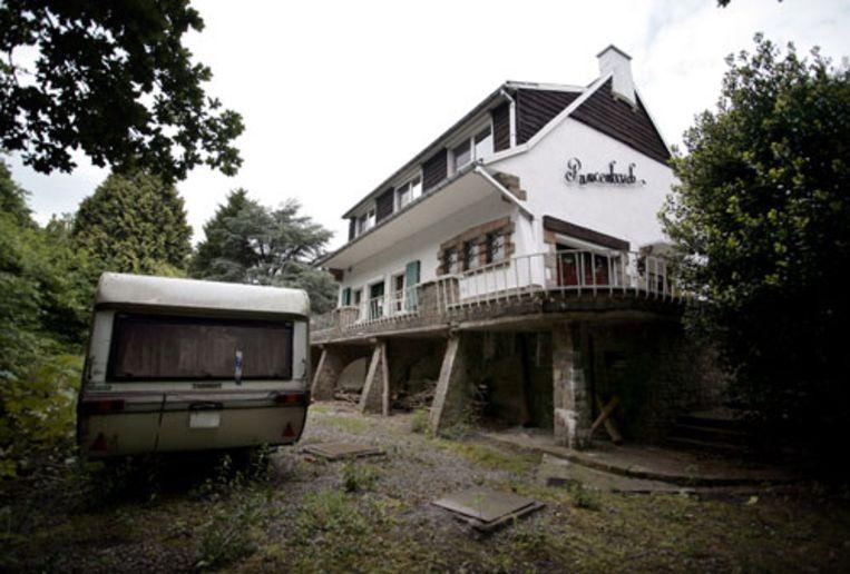 De villa in het Vlaamse Bekkevoort. In de tuin lag het lichaam van de 31-jarige Renate Jonkers begraven. (Bart MÃ¿hl) Beeld