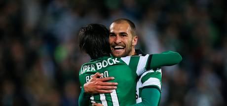Bas Dost weer trefzeker voor winnend Sporting