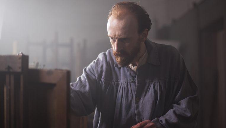 Jamie de Courcey als Van gogh in A New Way of Seeing Beeld Seventh Art Productions & Annelies van der Vegt