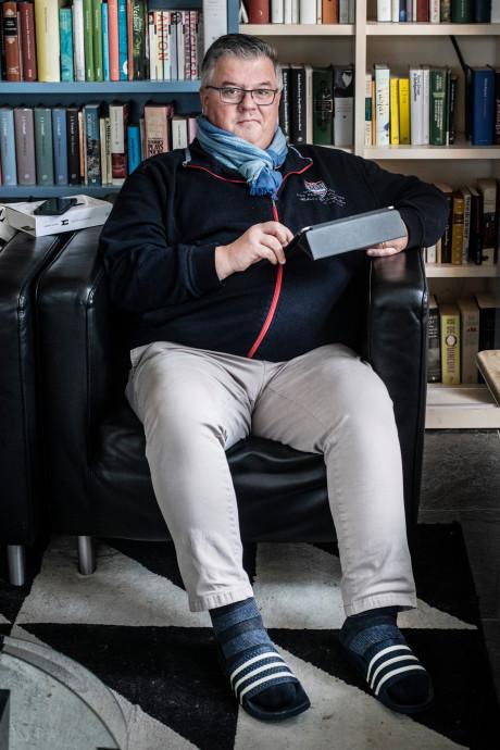 Voetbal, muziek en boeken: de ideale zaterdag van burgemeester Hubert Bruls