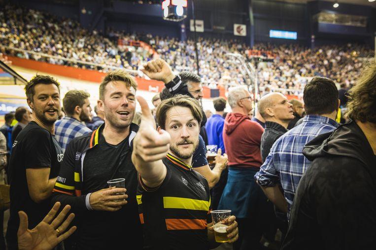 Ook Frederik Sioen is een hevige Zesdaagse-fan.