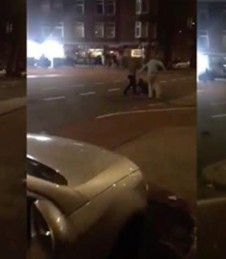 Verdachte gefilmde mishandeling  Hoefkade aangehouden