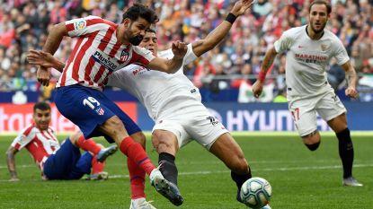 Carrasco en Atlético blijven hangen op 2-2-gelijkspel tegen Sevilla, VAR eist hoofdrol op in eerste helft