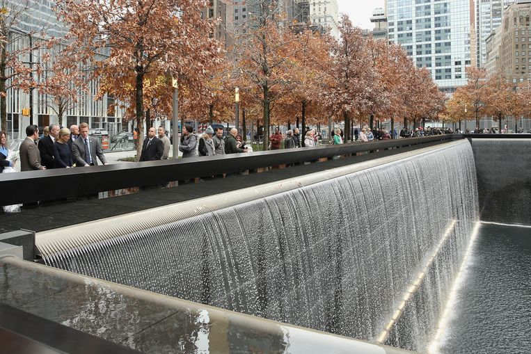 Het 9/11-memorial in New York. Beeld getty