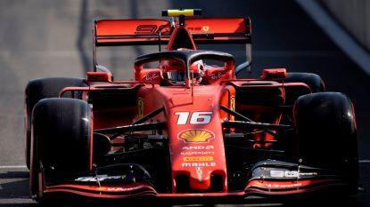 Leclerc pakt pole in Spa-Francorchamps, Hamilton haalt maar net op tijd Q1 na crash in vrije oefenritten