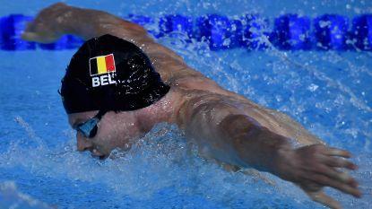 EK zwemmen. Geen medaille voor Louis Croenen op 200 meter vlinderslag ondanks sterke eindspurt