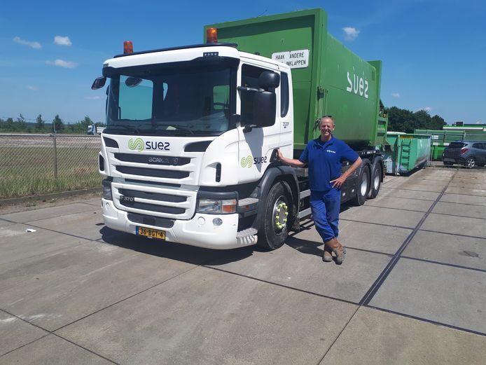 René Bergman (58), chauffeur afvalverwerker Suez
