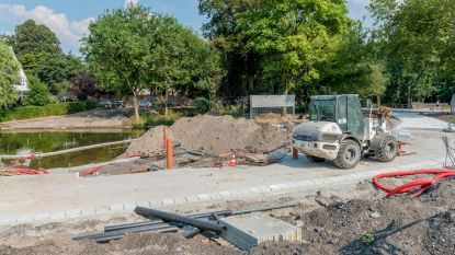 Vernieuwde Albertpark opent pas in september
