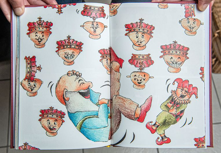 De authentieke tekeningen in het boekje.