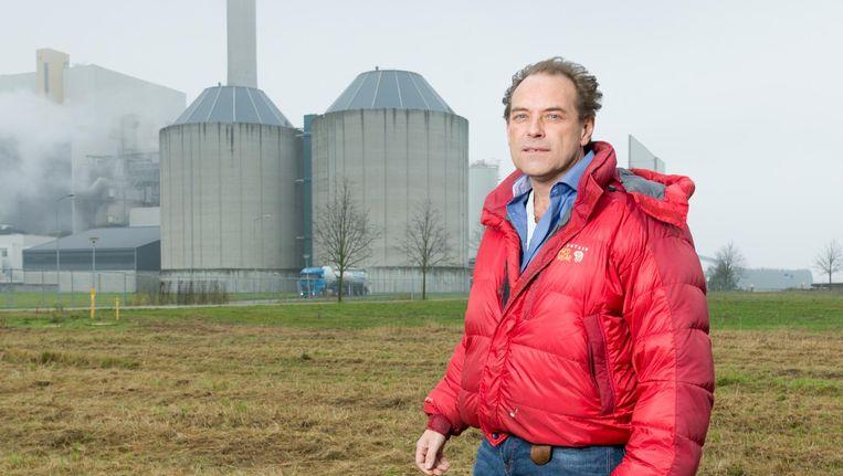 Christiaan Brester, oprichter van Lens-energie. Beeld Ivo van der Bent