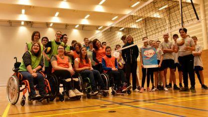 Stichting Vlaamse Schoolsport start G-competitie tegen gewoon onderwijs