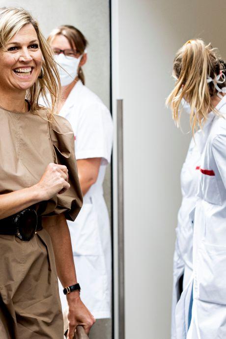 Máxima in H&M-jurk: bezoekje aan de strijkkamer kan ook geen kwaad