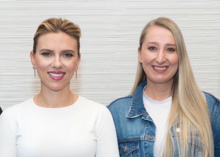 Scarlett Johansson en onze vrouw in Hollywood, Kristien Gijbels.