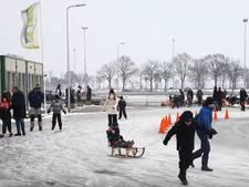 Video   Staphorst pakt (laatste) schaatsdag mee