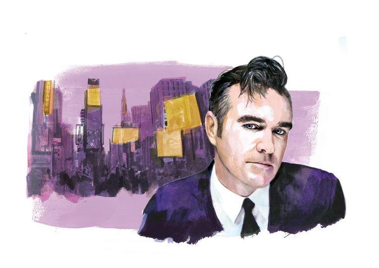 Morrissey speelt op Broadway. Beeld Berto Martinez