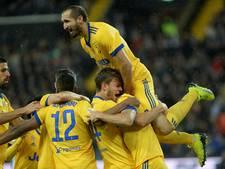 Tiental Juventus loopt twee punten in op Napoli en Inter