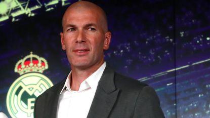 Zidane volgt ontslagen Solari op en is opnieuw coach van Real Madrid