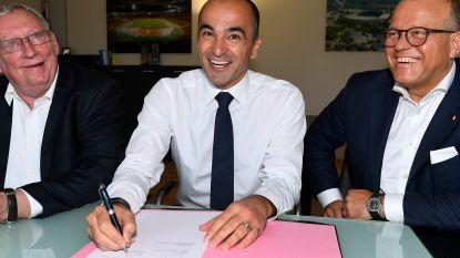 Martínez tekent contract